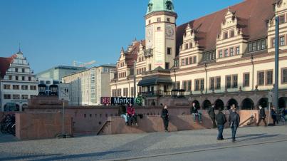 Leipziger Marktplatz
